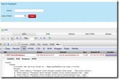 No WebService Found